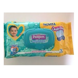 PAMPERS SALVIETTE BABY FRESH RICARICA 72 PZ.