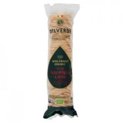 Delverde Tagliatelle a Nido n.182 Pasta di Semola Integrale di Grano Duro 250 g
