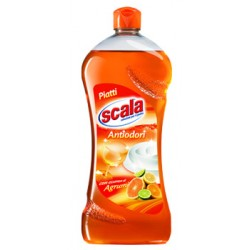 Scala detersivo piatti Antiodori con essenza di Agrumi 750 ml