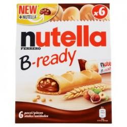 Nutella B-ready cialde di pane6 x 22 g Ferrero