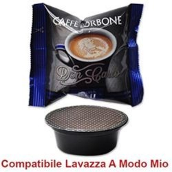 100 capsule CAFFE' DON CARLO MISCELA BLU compatibili Espresso Point