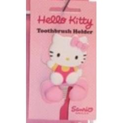 HELLO KITTY portaspazzolino da muro per bimbe colore ROSA