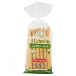 Biscopan GRISSINI CON OLIVE VERDI 200 GR