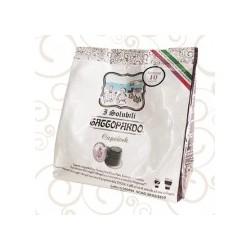 80 Capsule NOCCIOLINO TODA Nespresso compatibili GATTOPARDO