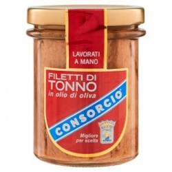 Consorcio Filetti di Tonno in Olio di Oliva 195 g
