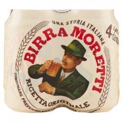 Birra Moretti conf 4x33 cl