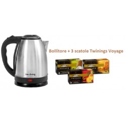 Bollitore INNOLIIVNG+ 3 conf TE' TWININGS VOYAGE