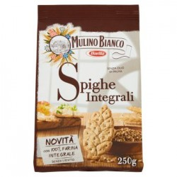 Mulino Bianco, Spighe integrali crackers integrali 250 g