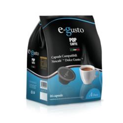 16 capsule Deca POP CAFFE' E-GUSTO compatibili dolce gusto