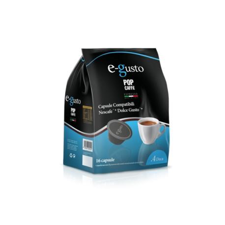 16 capsule Deca POP CAFFE' E-GUSTO compatibili espressi Point