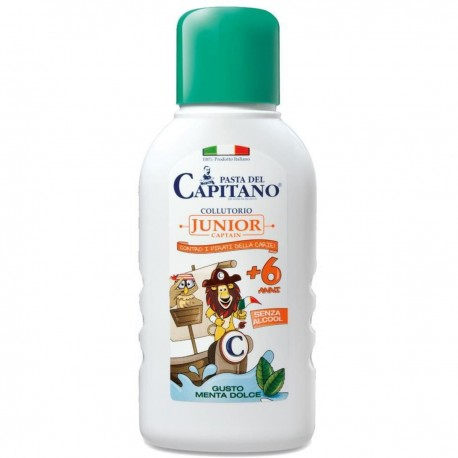 PASTA DEL CAPITANO Collutorio Junior +6 Anni 250ml