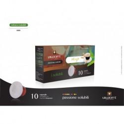 10 Capsule Caffè D'Orzo Lollo Compatibili Sistema Nespresso