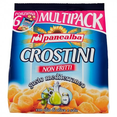 PANEALBA CROSTINI GUSTO MEDITERRANEO conf. 6x30 g