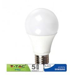 V-TAC PRO Lampadina LED E27 11W A60 CHIP SAMSUNG BIANCO CALDO VT-212
