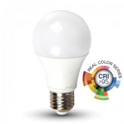 V-TAC Lampadina LED E27 10W A60 CRI 95 BIANCO CALDO VT 2210