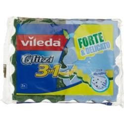 VILEDA GLITZI SPUGNA 3in1 2 PZ