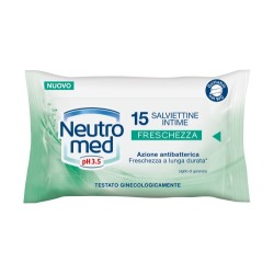 NEUTROMED SALVIETTE INTIME PH3,5 15 PZ.FRESCHEZZA AZIONE ANTIBATTERICA
