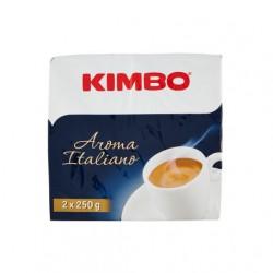 KIMBO AROMA ITALIANO caffe' macinato per moka 2x250 gr.